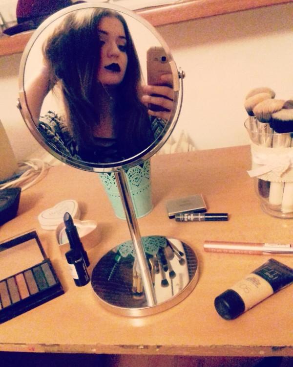 MY DAILY MAKEUP ROUTINE, Makeup z drogérie.